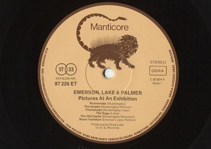 EMERSON LAKE & PALMER []